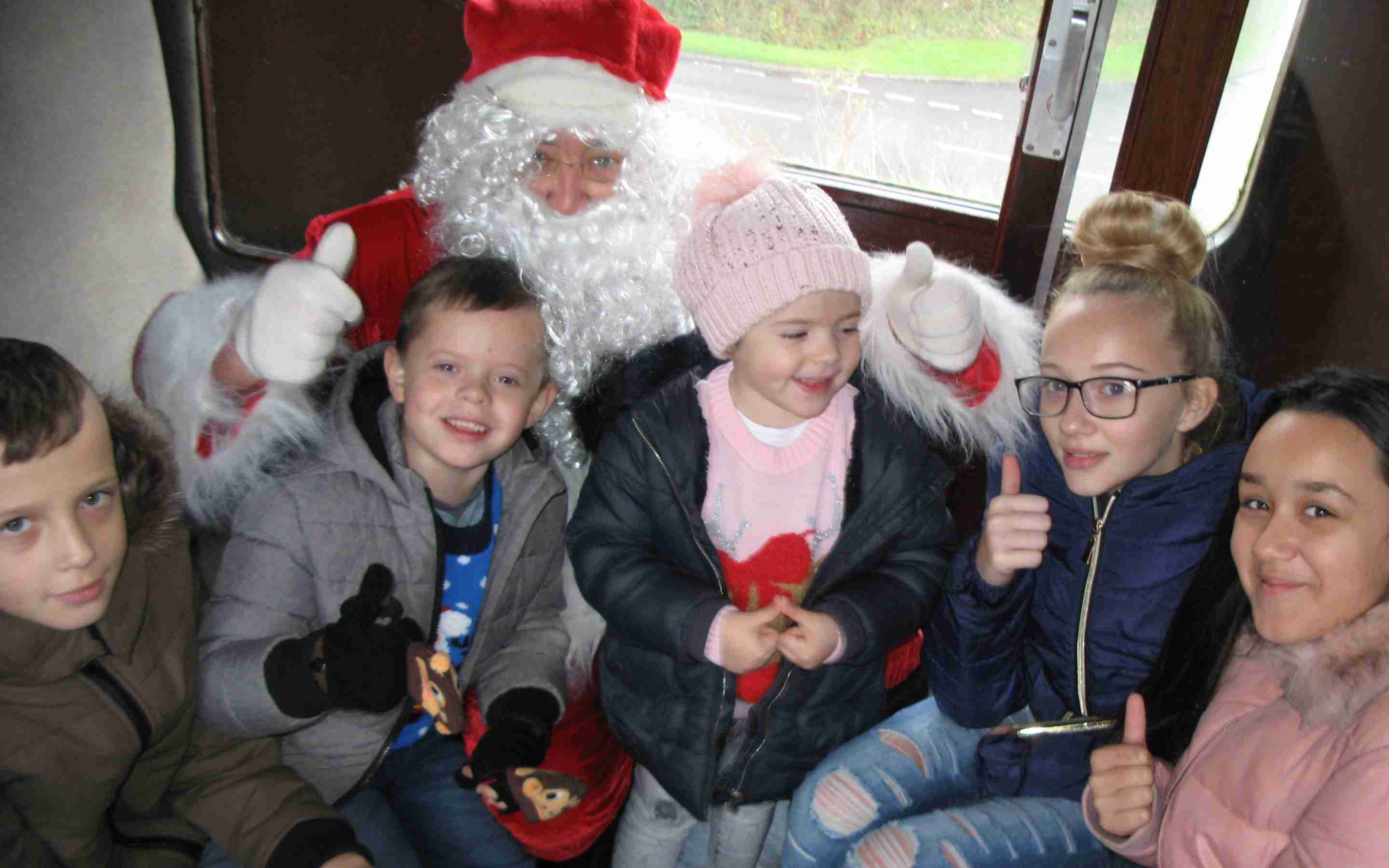 Santa Special Steam Train