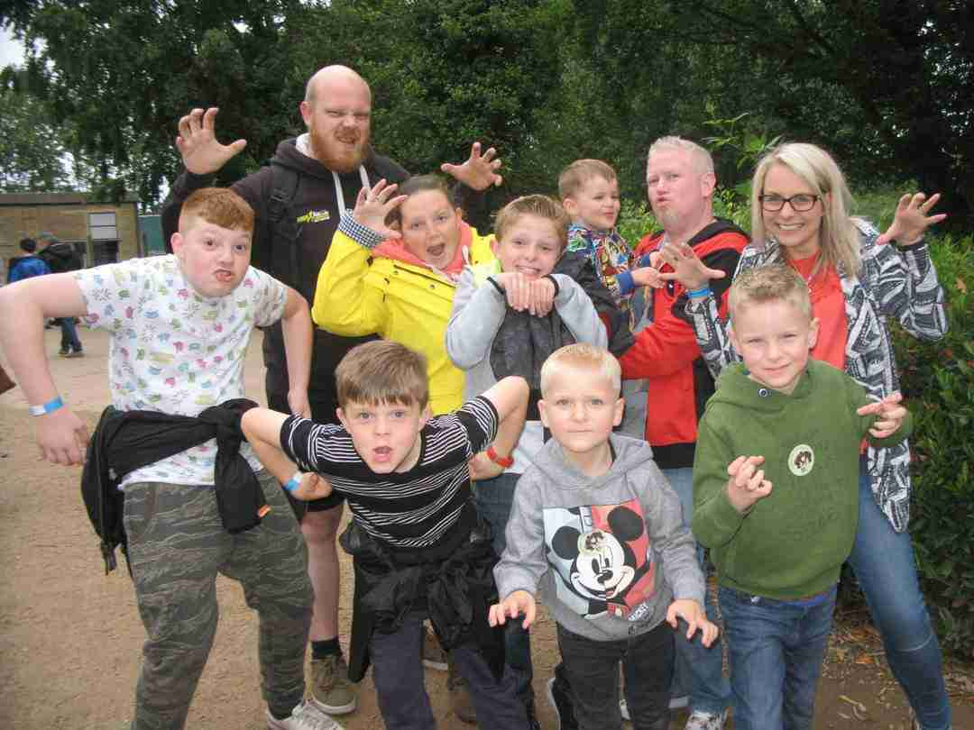 Family group outings to Twycross Zoo and Yorkshire Wildlife Park