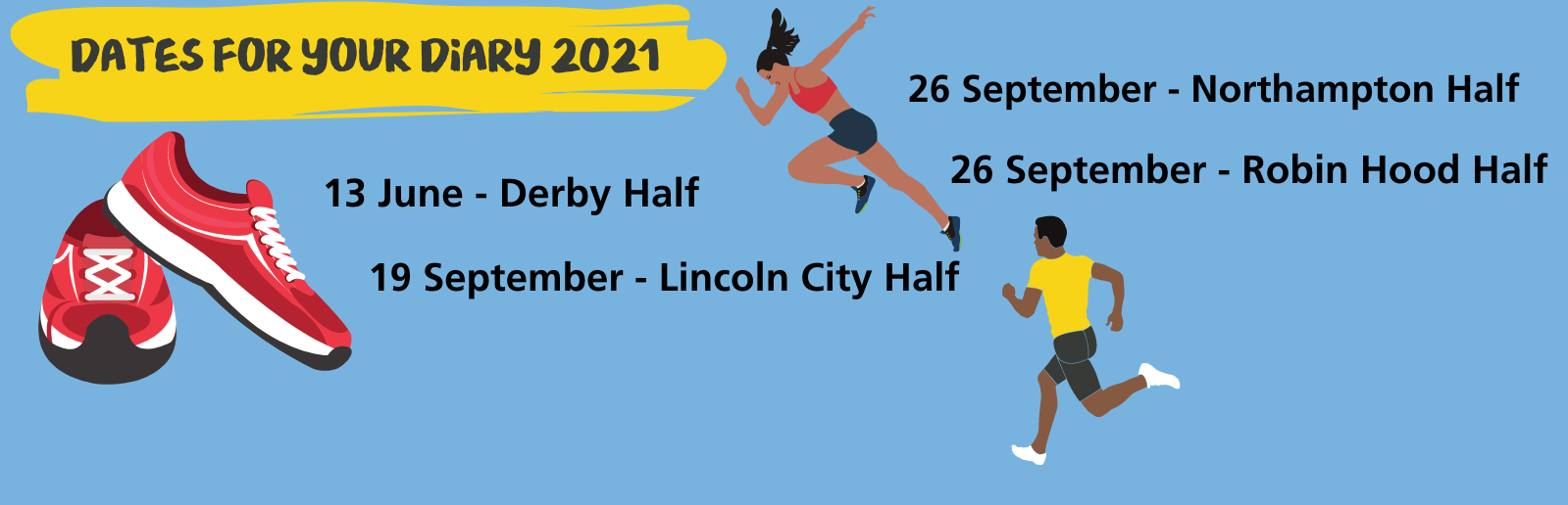 Running dates for your diary