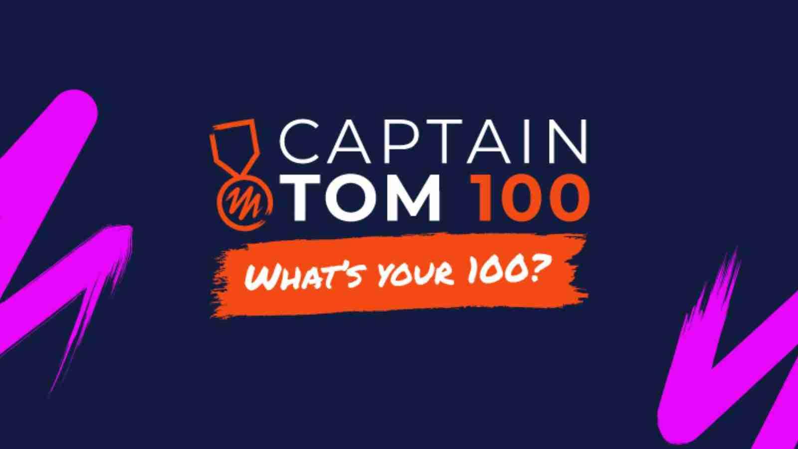Take on the Captain Tom 100 Challenge for PASIC