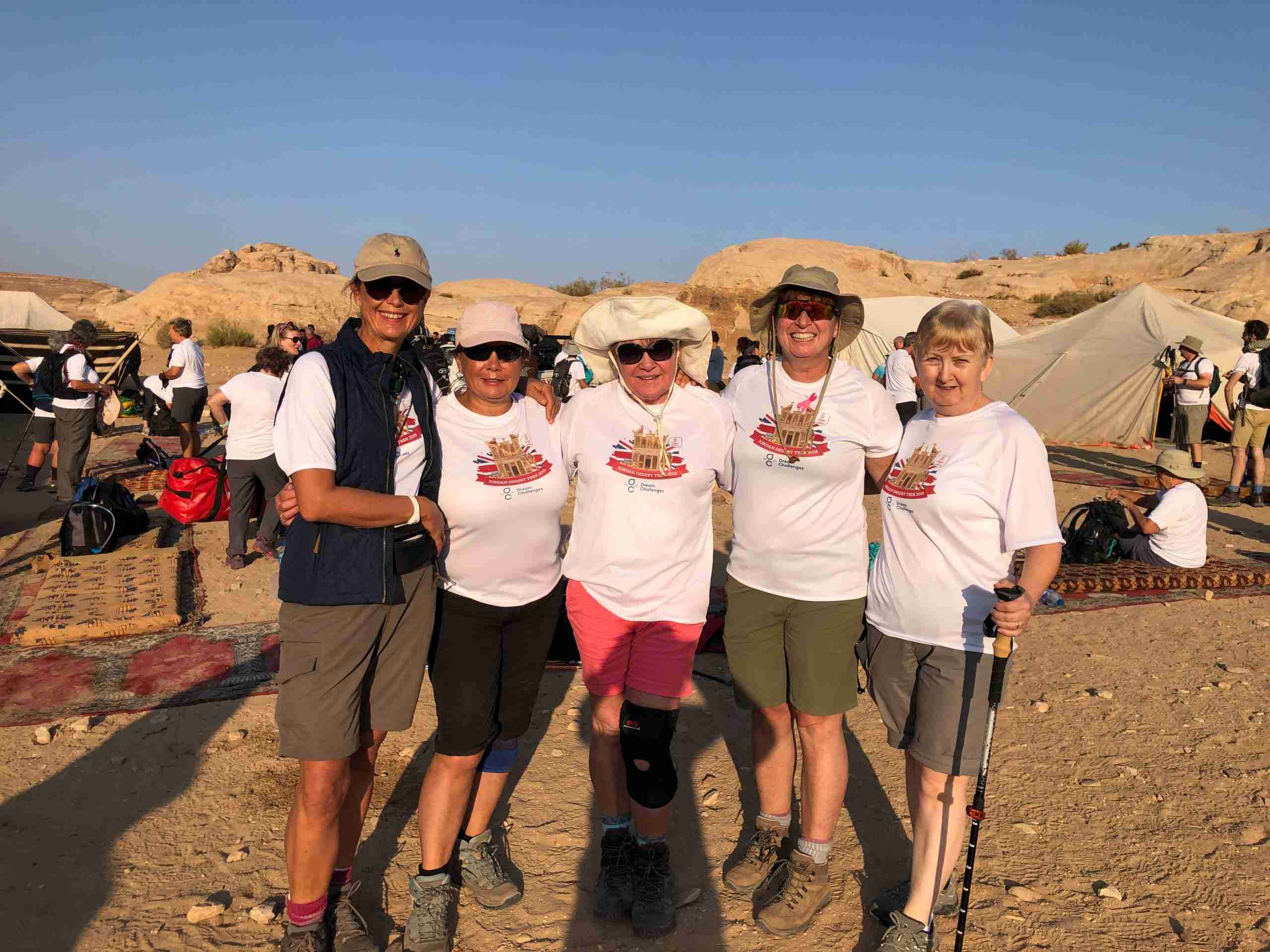 The Jordan trek