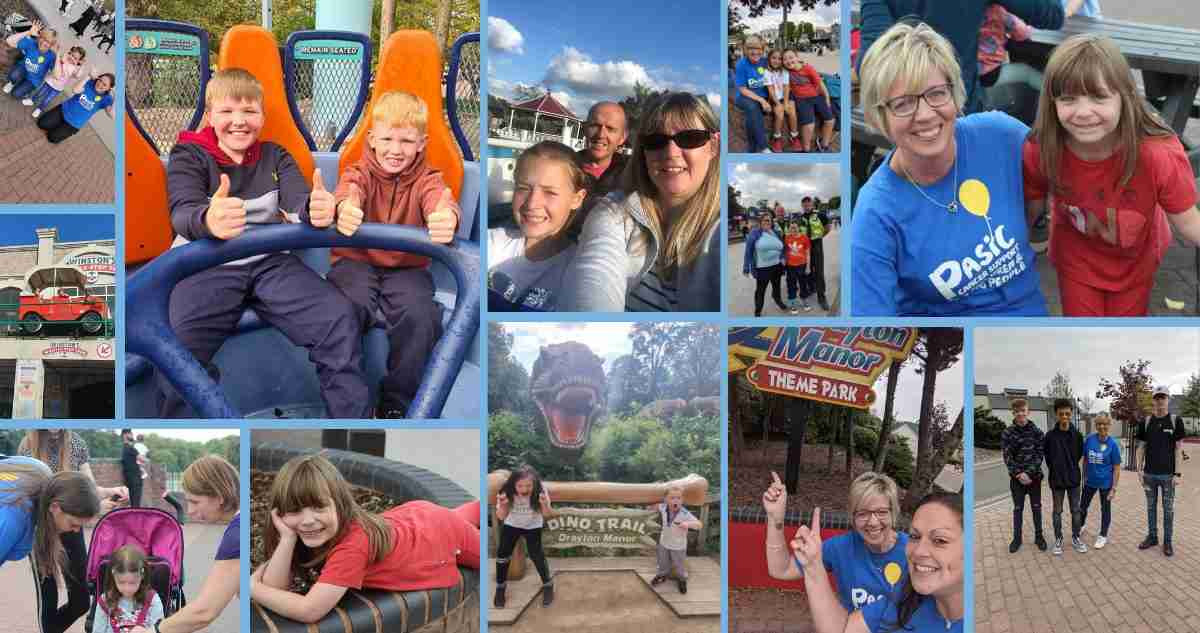 73 families come along for the ride at Drayton Manor Theme Park